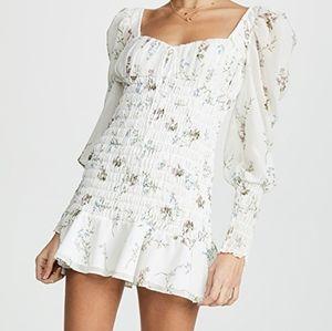 For Love & Lemons Dixon Mini Dress